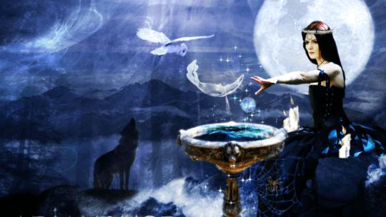 Deusa Arianrhod, a Roda de Prata