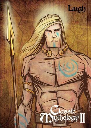 Deus Lugh, Campeão e multi-habilidoso