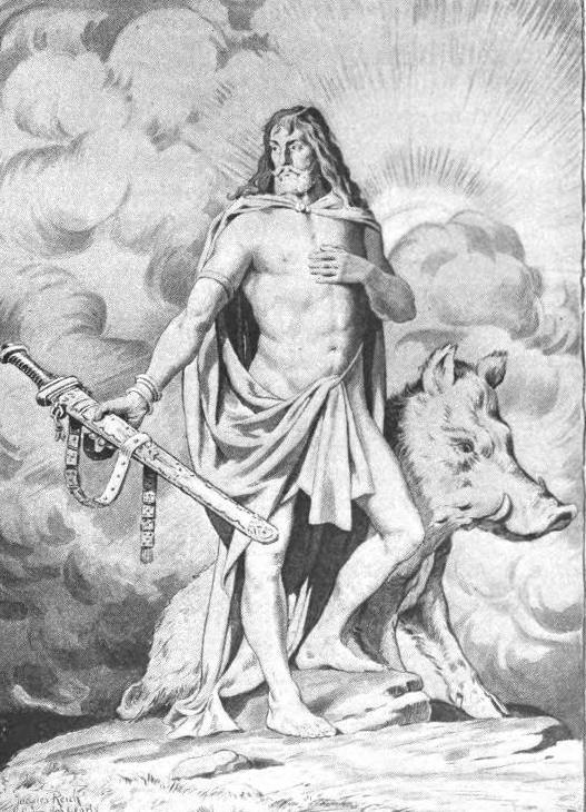 Freyr by Sarah Bradish (1900)