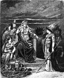 Frigg Ilustrado por Carl Emil Doepler (1882).