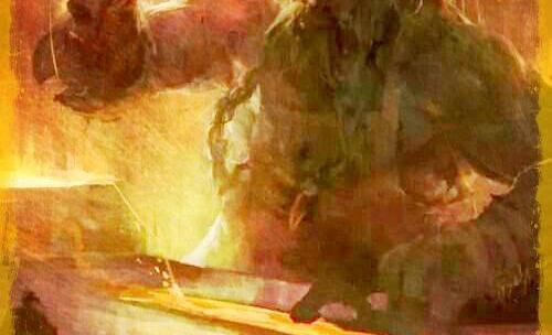 Goibniu, o Deus ferreiro ligado à magia e alquimia