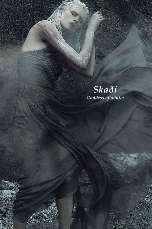 Deusa e Jotun Skadi