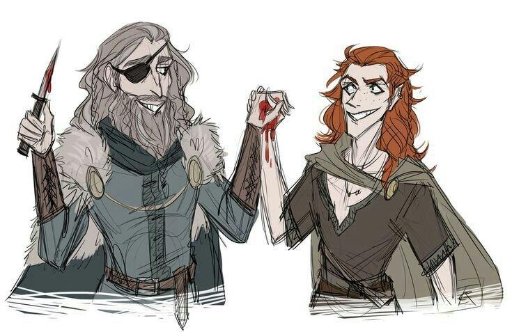 Odin e Loki: irmãos a partir de um juramento de sangue