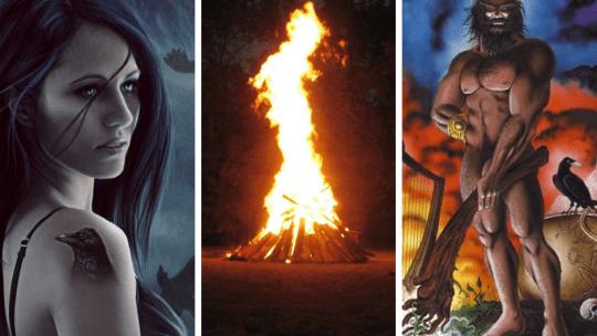 Samhain (Cailleach, Morrigan e Dagda)