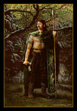 """""""Cuchulainn, chief hero of the Ultonians"""""""