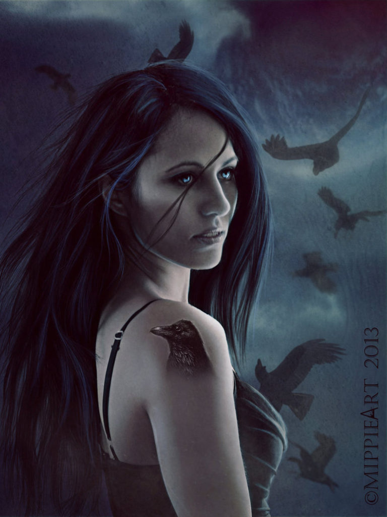 Deusa Morrighan
