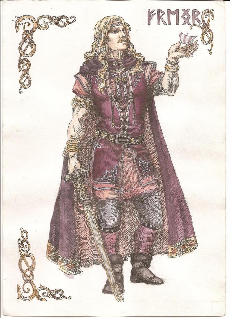 Deus Freyr. Crédito - https://www.deviantart.com/righon/art/Freyr-253887333