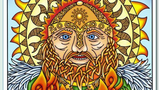 Deus Bilé: fogo irlandês e ancestral dos Milesianos