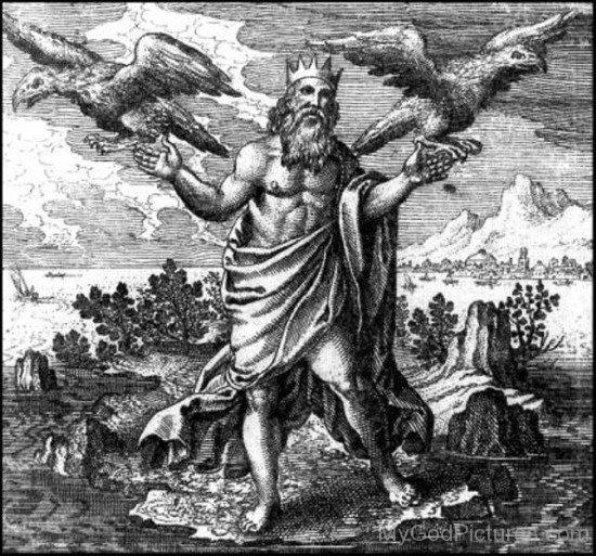 Deus Júpiter. Fonte: https://www.mygodpictures.com/god-jupiter-picture/