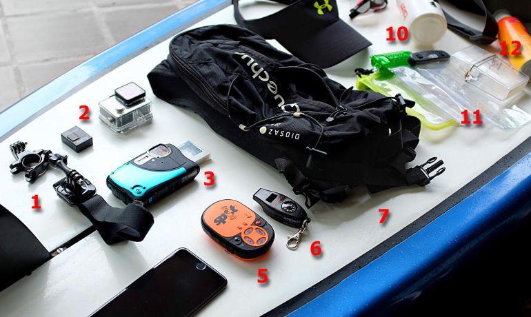 Lista de equipamentos de Stand Up Paddle