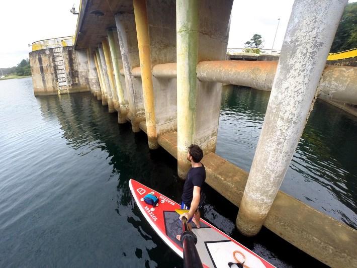 Barragem da SABESP, onde fui orientado a me afastar