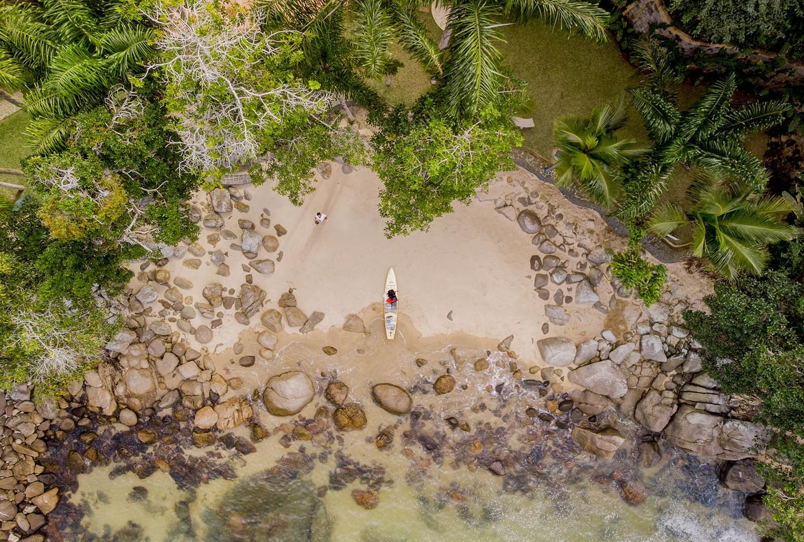 4 Praias de Ubatuba de SUP