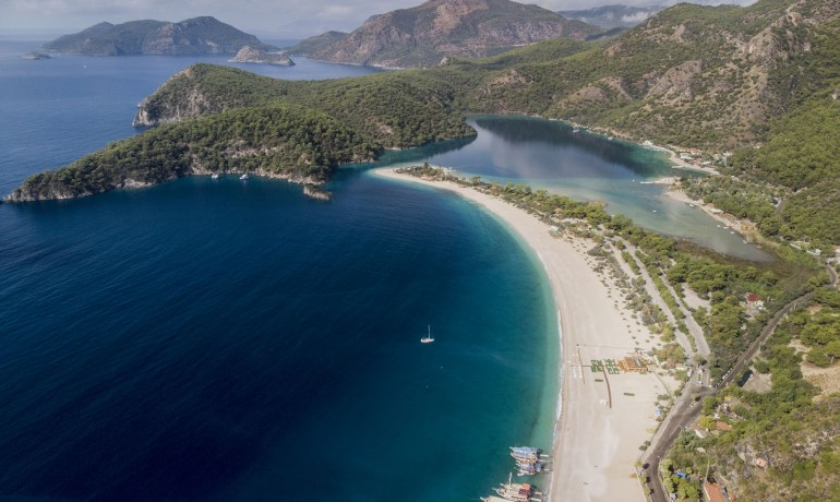 Lagoa Azul de Fethye Turquia