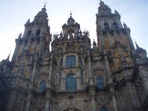 サンチャゴ大聖堂正面図