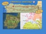 フランススペイン地図