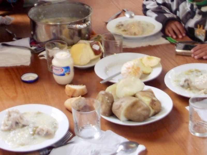 529 カミーノトリアカステーリャ ディナー