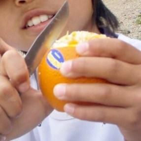 605スペイン巡礼 オレンジ4 サンティアゴ Santiago