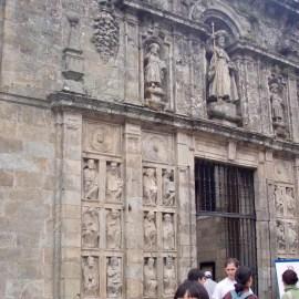 605スペイン巡礼 移転前 巡礼事務所 サンティアゴ Santiago