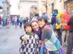 606サンティアゴ Santiago Camino 巡礼事務所 12お姉さん