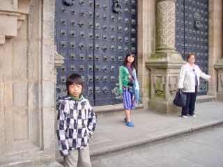 606サンティアゴ Santiago Camino 大聖堂出口