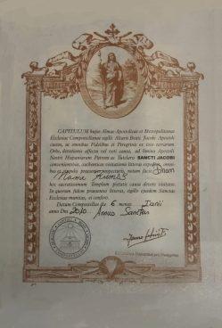606サンティアゴ巡礼クレデンシャルcredential Camino