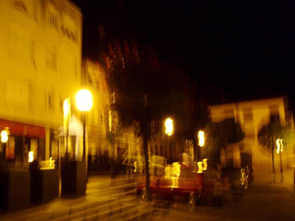612 fisterra sunset サンティアゴ巡礼 夜景街灯