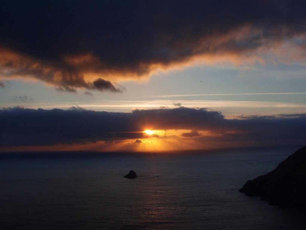 612 fisterra sunset 25 サンティアゴ巡礼