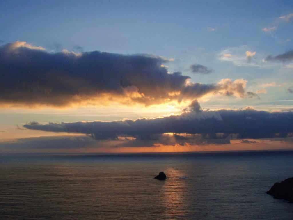 612 fisterra sunset 17 サンティアゴ巡礼