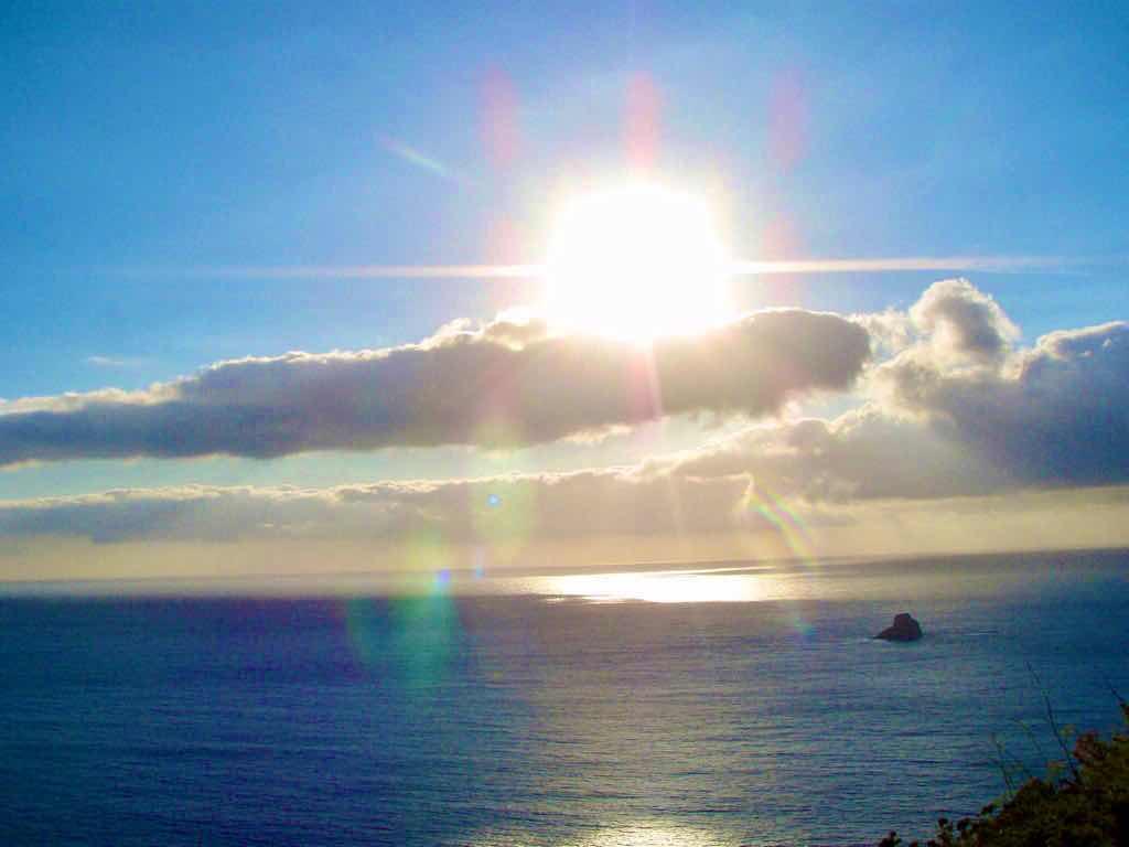 612 fisterra sunset 2 サンティアゴ巡礼