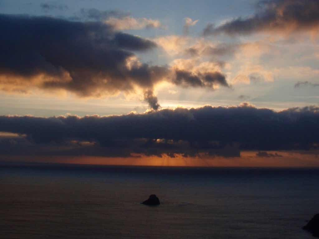 612 fisterra sunset 19 サンティアゴ巡礼