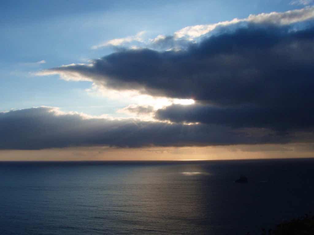 612 fisterra sunset 5 サンティアゴ巡礼