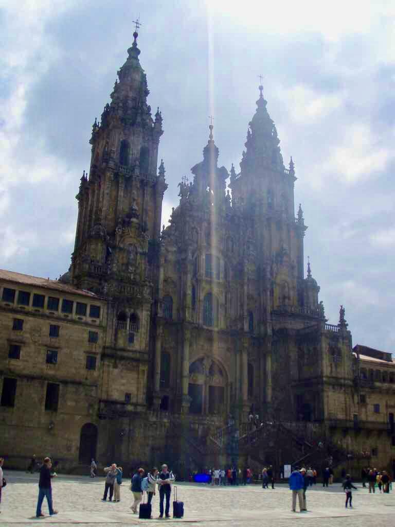 614サンティアゴ巡礼 最終地Muxia サンティアゴ大聖堂