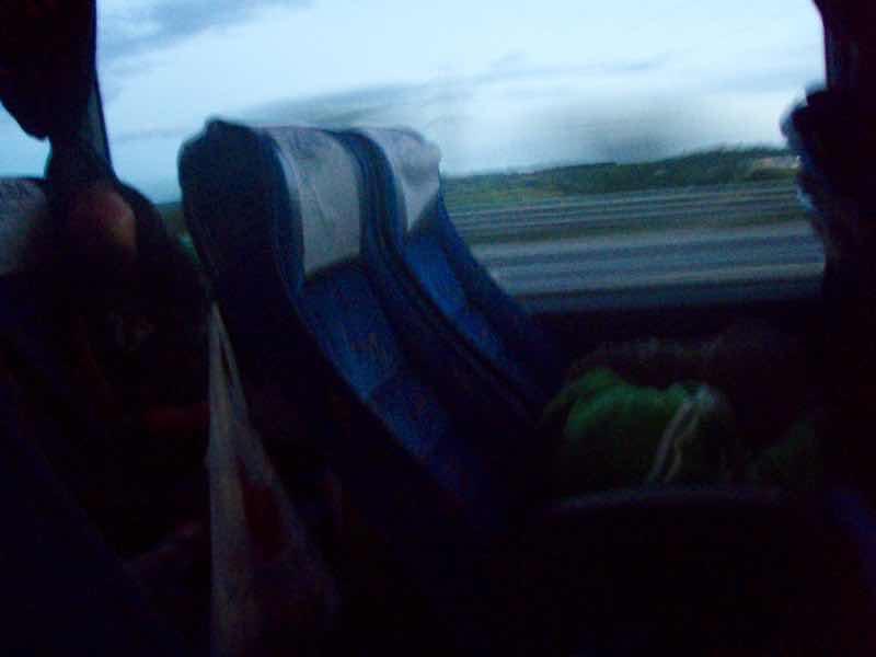 615 Alsa バス バルセロナ移動 座席