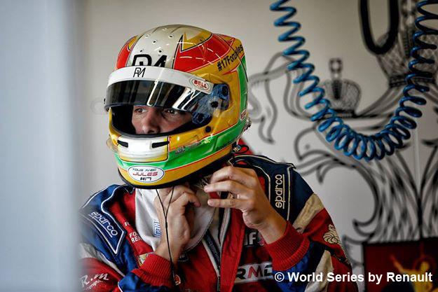 Roberto Merhi, tercero de la general