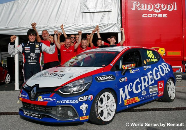 Oscar Nogués es bicampeón de la Eurocup Clio