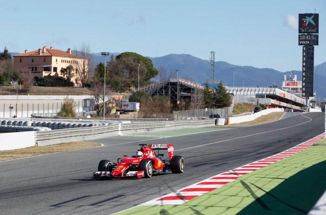 F1 Test Days Circuit de Barcelona-Catalunya
