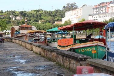 Betanzos river and boats