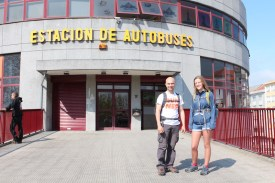 Ferrol bus station entrance