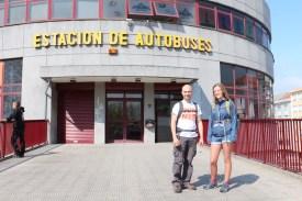 Ferrol bus station entrance