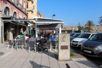 Starting point of the Camino Inglés
