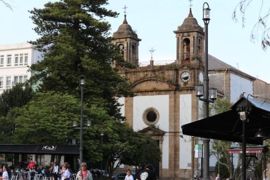 Rúa Real - Iglesia Parroquial De Nuestra Señora De Los Dolores
