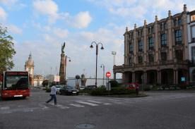 Teatro Jofre and Rúa dos Irmandiños