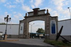 Spanish Naval Fleet entrance