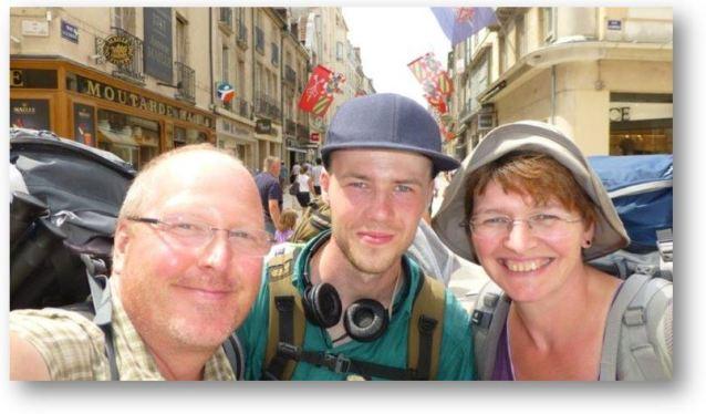erstes Treffen mit Albi in Dijon