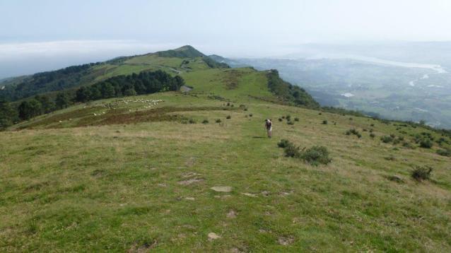 CAMINO DE LA COSTA - Jakobsweg im Baskenland. GR34 zwischen «Irun» und «Pasaia» - auf dem «Berg Jaizkibel»
