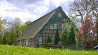 Dorf in der Großstadt: Bauernhaus im Blockland.