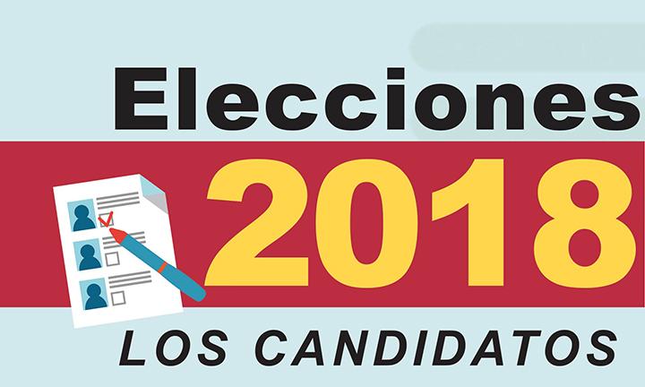 Conoce los candidatos para las próximas elecciones 2018