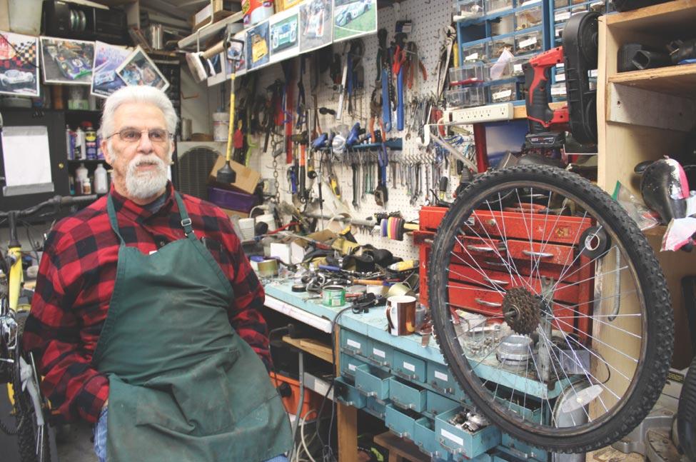 Hay mucha vida en las bicis viejas