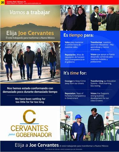 Cervantes para Gobernador