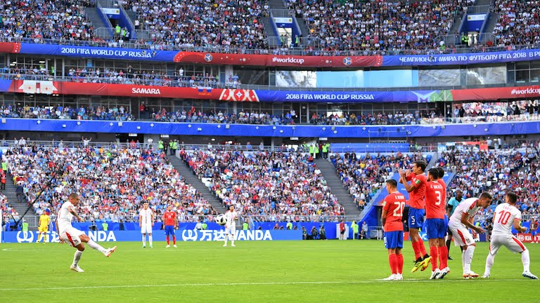 Serbia derrota a Costa Rica 1-0